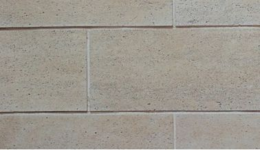 Heat Insulation Artificial Culture Stone With Multicolor Travertine Design