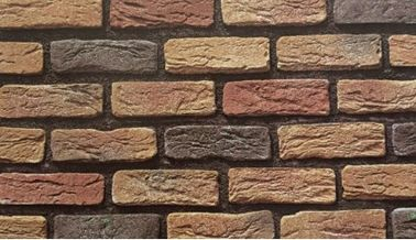 Sound Proof Faux Brick Wall Tiles / Faux Rock Panels Low Water Absorption