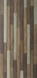 Rustic Natural Wood Design 3D Inkjet Exterior Wall Tile 300x600mm AAA Grade